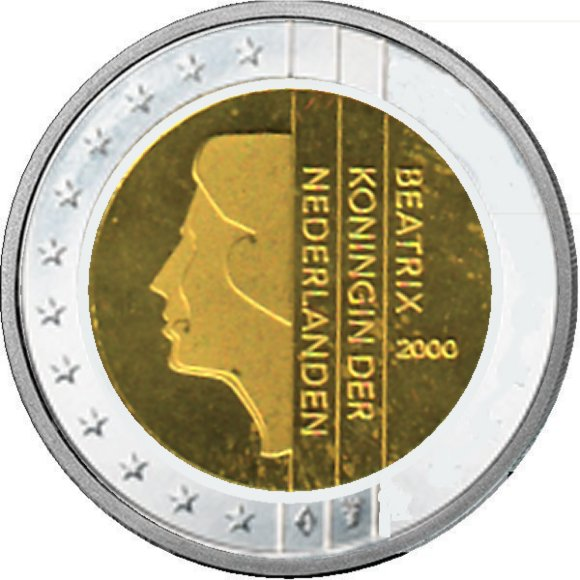 Shop4euro Niederlande 2000 2 Kursmünze