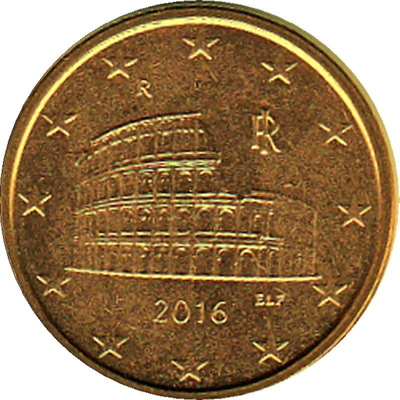 Shop4euro Italien 2016 5 Cent Kursmünze