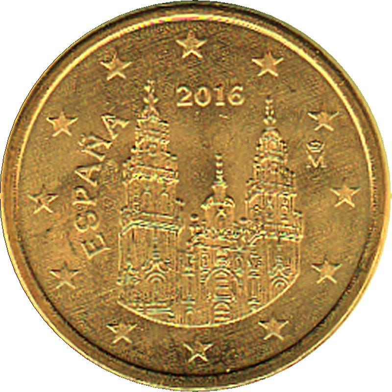 Shop4euro Spanien 2016 5 Cent Kursmünze